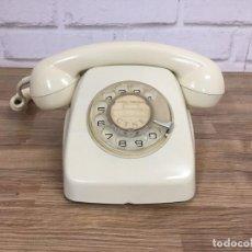 Teléfonos: TELÉFONO HERALDO BLANCO MARFIL ELASA ESPAÑA AÑOS 60 SERIAL APA 8008. Lote 128841070