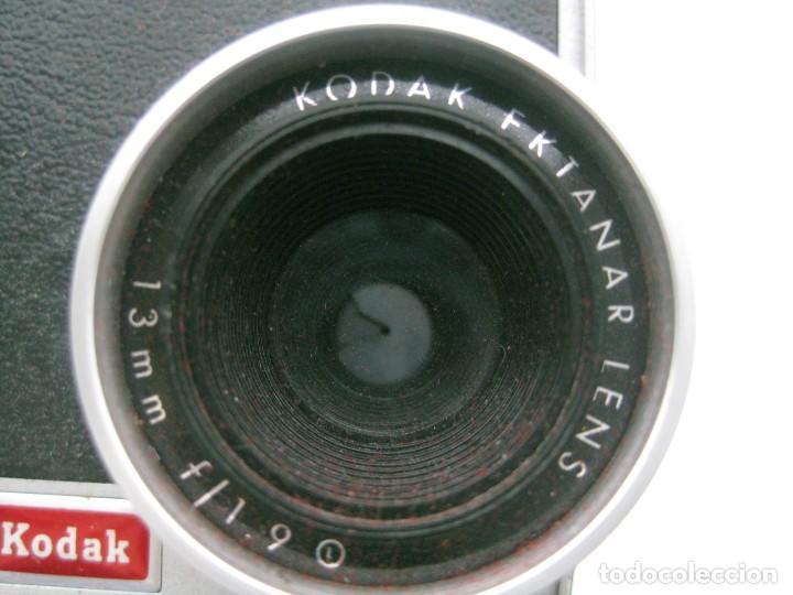 Antigüedades: CAMARA SUPER 8 KODAK EKTANAR LENS F/1.9 - Foto 6 - 128877319