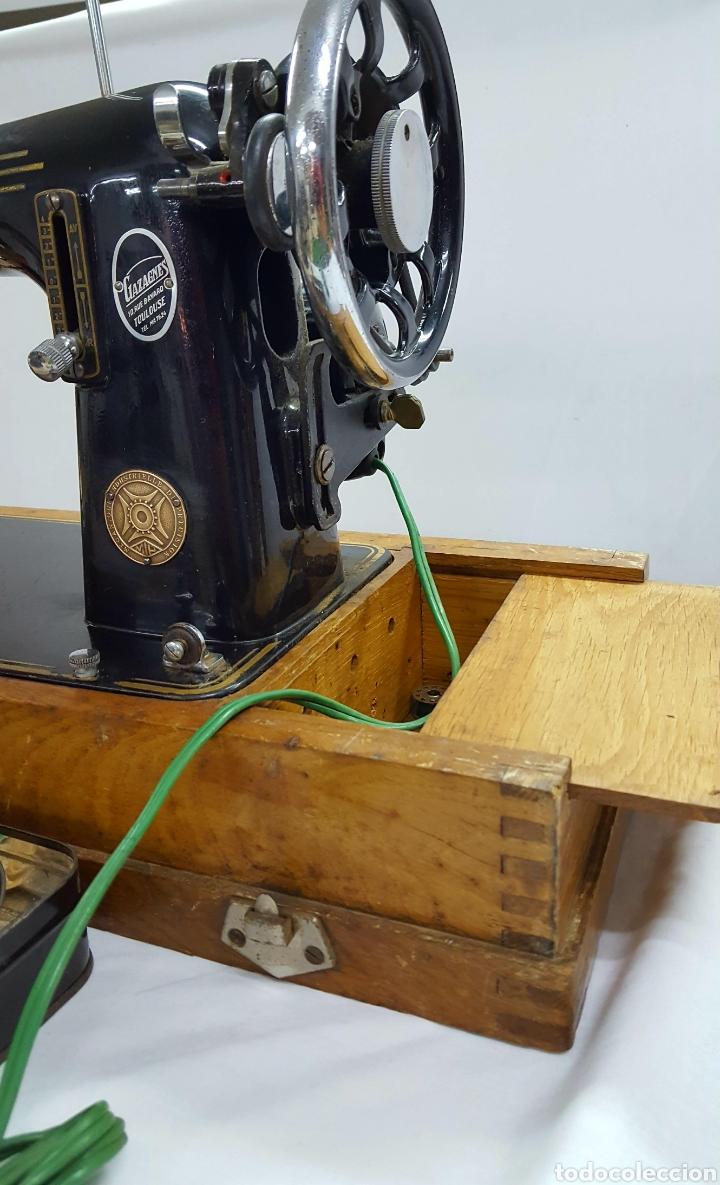 Antigüedades: Maquina de coser Gazagnes - Foto 5 - 128887886
