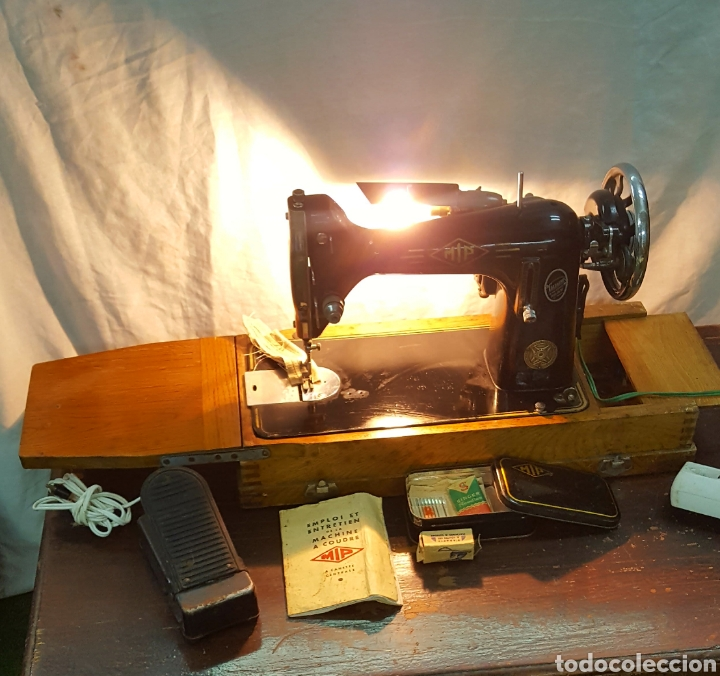 Antigüedades: Maquina de coser Gazagnes - Foto 8 - 128887886