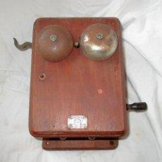 Teléfonos: TELÉFONO MURAL ATEA DE FABRICACIÓN BELGA, ORIGINAL DE 1925/30. MUY RARO.. Lote 128932687