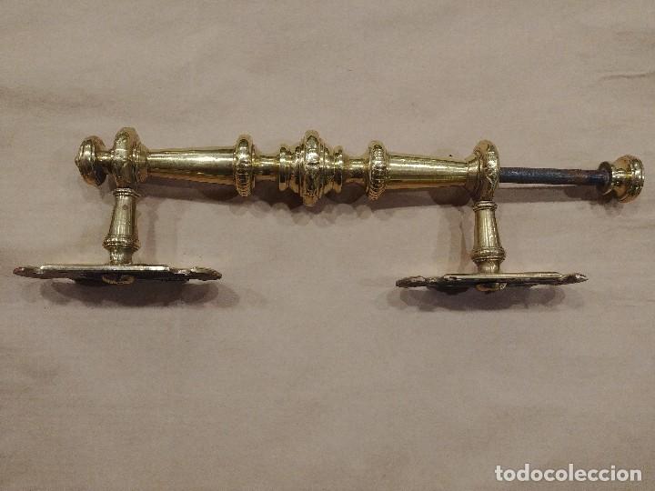 Antigüedades: TIRADOR DE LATON - Foto 4 - 128992375
