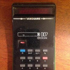 Antigüedades: CALCULADORA VANGUARD H 807 ELECTRONIC. Lote 129023551