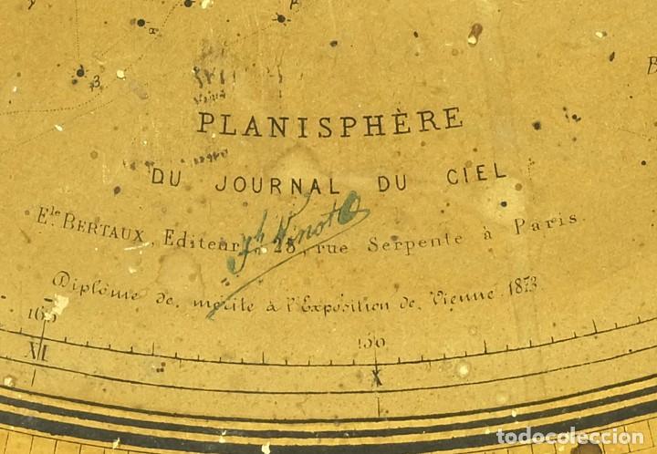 Antigüedades: 1868 - Planisferio Gigante 70cm. Localizador de estrellas Starfinder en soporte de exhibición - Foto 3 - 129061927