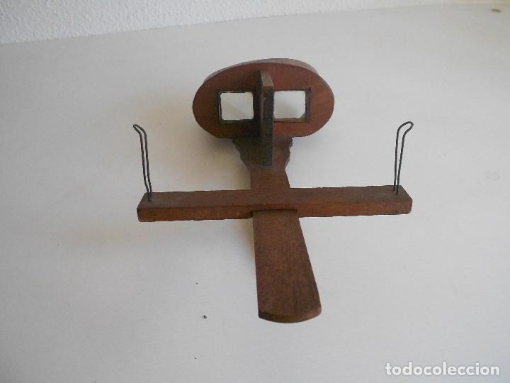 Antigüedades: visor estereoscopico - Foto 3 - 129068571
