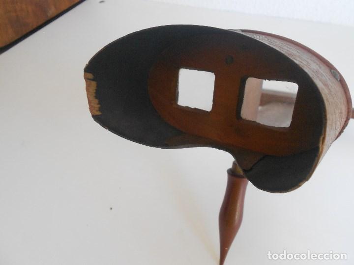 Antigüedades: visor estereoscopico - Foto 7 - 129068571