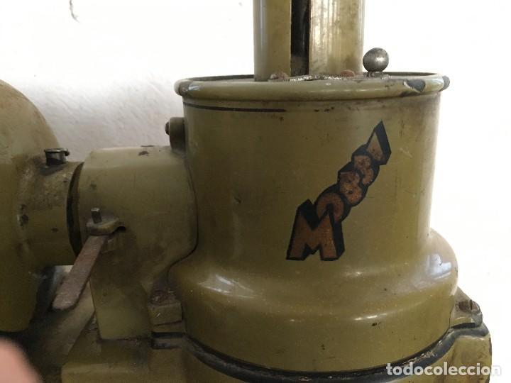 Antigüedades: ANTIGUO MOLINILLO DE CAFE MARCA MOBBA PARA BAR CAFETERIA, DE HIERRO, BADALONA BARCELONA AÑOS 50 - Foto 11 - 129153955
