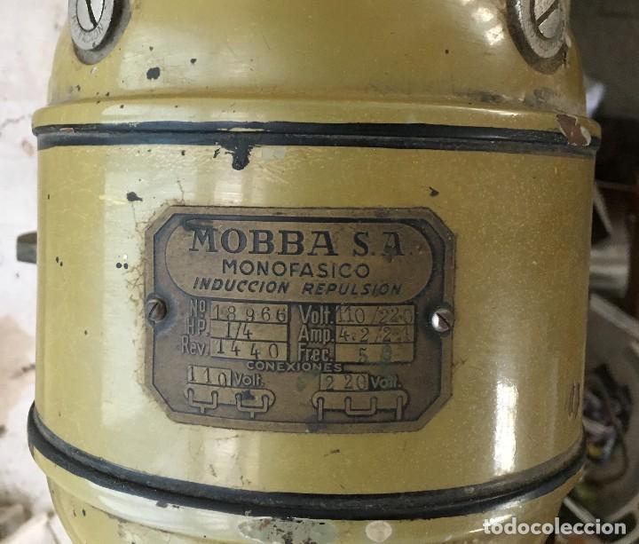 Antigüedades: ANTIGUO MOLINILLO DE CAFE MARCA MOBBA PARA BAR CAFETERIA, DE HIERRO, BADALONA BARCELONA AÑOS 50 - Foto 15 - 129153955