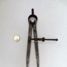 Antigüedades: COMPAS DE MECANICO AJUSTADOR DE 25CM. Lote 129286331