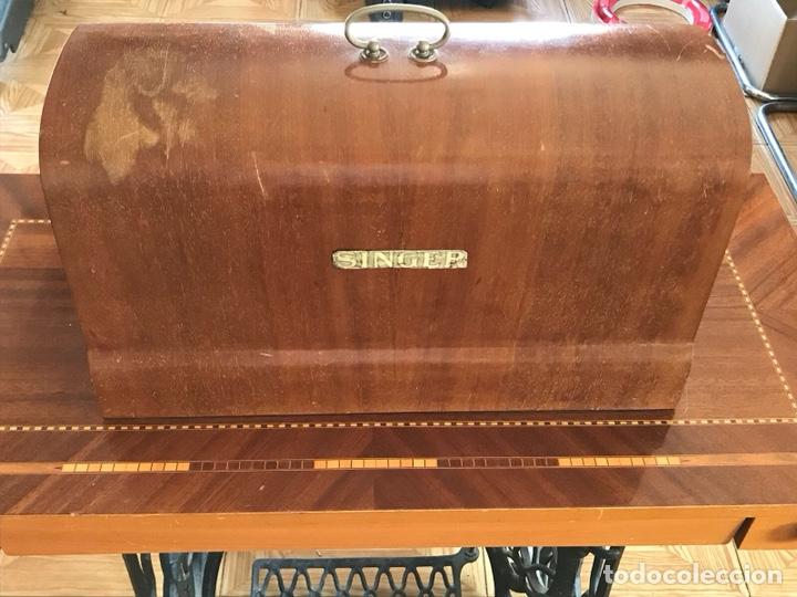 Antigüedades: Máquina de coser Singer de principios del siglo XX - Foto 6 - 129295218