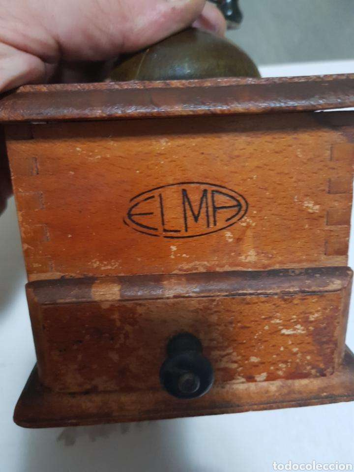 Antigüedades: Molinillo antiguo cafe Elma - Foto 4 - 129327419