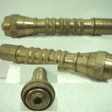 Antigüedades: ANTIGUA BOCA DE MANGUERA - BRONCE 834 GRS 23 CMS - RIEGO JARDINERO REGULABLE 2. Lote 129473931