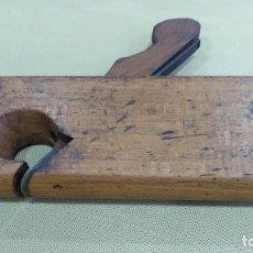 Antigüedades: ANTIGUO GUILLAMEN DE CARPINTERO EN MADERA.. Lote 129993771