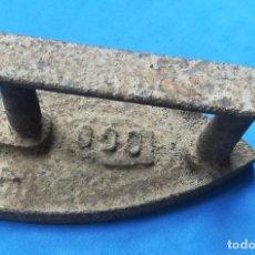 Antigüedades: PLANCHA ANTIGUA DE HIERRO, IDEAL ADORNO. Lote 130036855