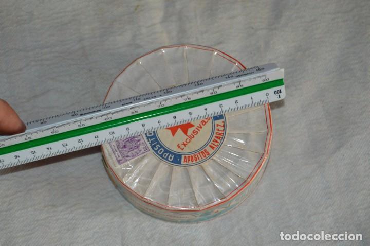 Antigüedades: VINTAGE - PAQUETE PRECINTADO - 20 COMPRESAS GASAS - APÓSITOS ÁLVAREZ - ENV24H - Foto 9 - 130040835