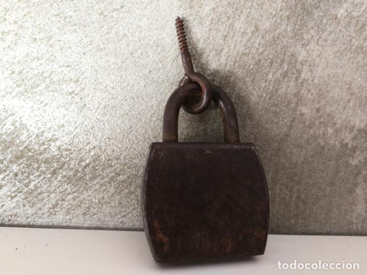 Antigüedades: PAREJA ANTIGUOS CANDADOS OMEGA Y EMR PARIS - Foto 5 - 130072659