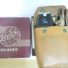 Antigüedades: MAQUINILLA AFEITAR ELECTRICA SCHICK SHAVER DE ALREDEDOR 1940. Lote 130084215