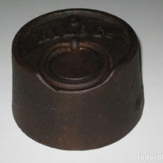 Antigüedades: PONDERAL O PESA DE 5 KILOS.. Lote 130092343