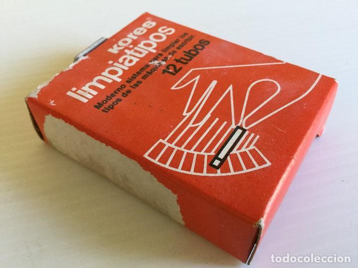 Antigüedades: Limpiatipos KORES 12 tubos – Años 80 - Foto 3 - 130203667