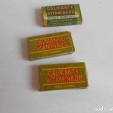 Antigüedades: CAJA PASTILLAS CALMANTE VITAMINADO. Lote 130227422