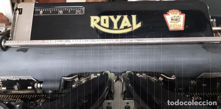 Antigüedades: Maquina Escribir Royal. Funciona. Trust Mecanográfico Madrid. Años 30 ? - Foto 5 - 172855449