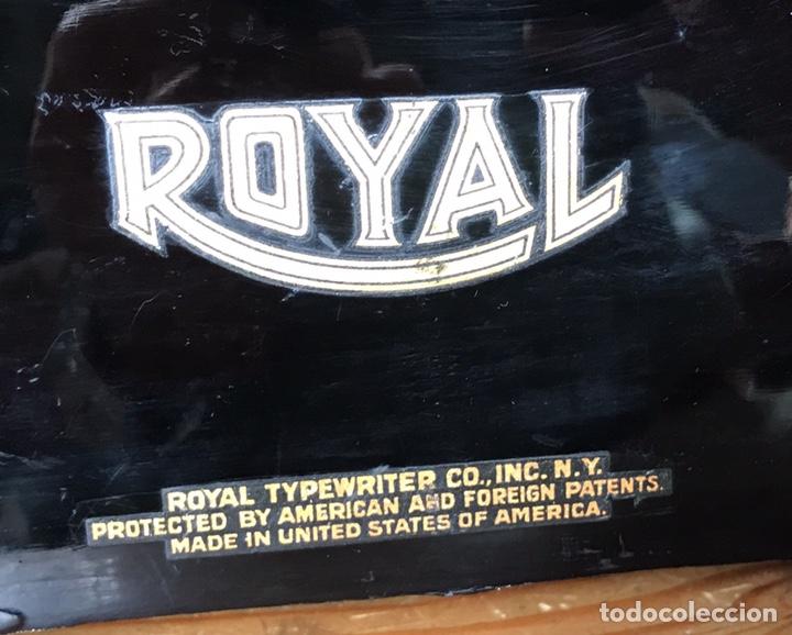Antigüedades: Maquina Escribir Royal. Funciona. Trust Mecanográfico Madrid. Años 30 ? - Foto 10 - 172855449