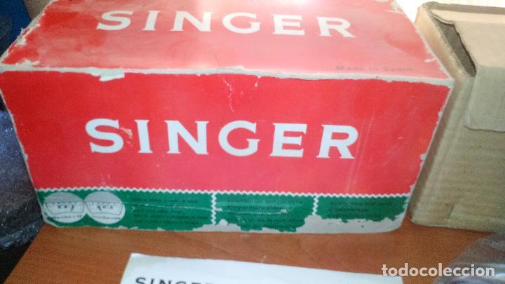Antigüedades: ANTIGUA PLANCHA ELECTRICA - SINGER - MOD. 968 - A ESTRENAR - !!!UNICA EN TODOCOLECCION¡¡¡¡ .ZXY. - Foto 3 - 130409842