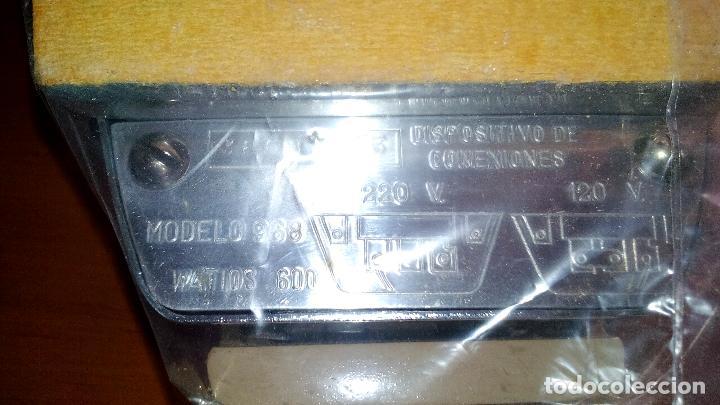 Antigüedades: ANTIGUA PLANCHA ELECTRICA - SINGER - MOD. 968 - A ESTRENAR - !!!UNICA EN TODOCOLECCION¡¡¡¡ .ZXY. - Foto 7 - 130409842