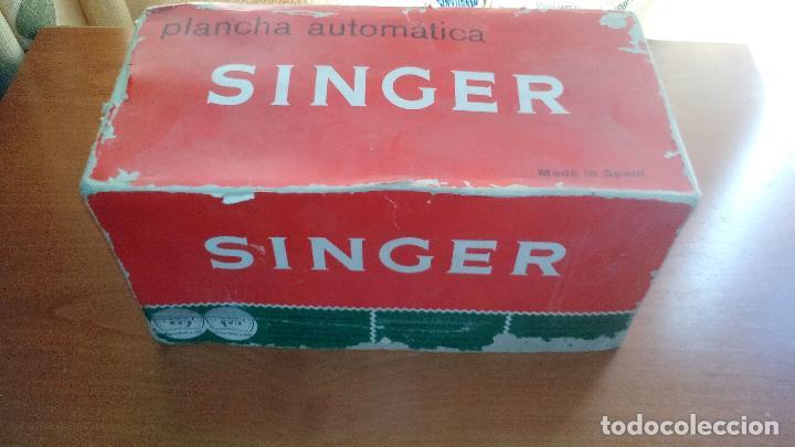 Antigüedades: ANTIGUA PLANCHA ELECTRICA - SINGER - MOD. 968 - A ESTRENAR - !!!UNICA EN TODOCOLECCION¡¡¡¡ .ZXY. - Foto 9 - 130409842