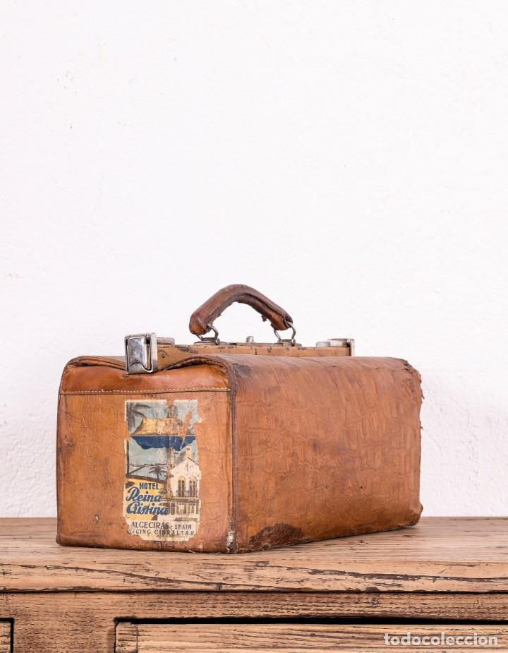 Antigüedades: Maletín De Médico - Foto 2 - 130459582