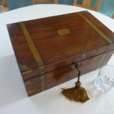Antigüedades: ANTIGUO ESCRITORIO/SECRETER NÁUTICO.. Lote 130499978