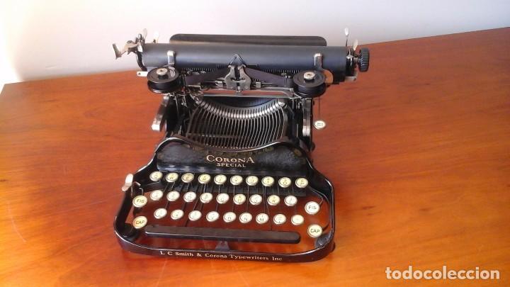 MÁQUINA DE ESCRIBIR CORONA SPECIAL (Antigüedades - Técnicas - Máquinas de Escribir Antiguas - Otras)