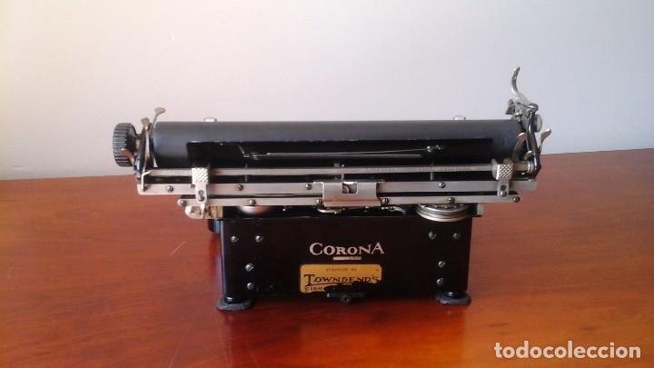 Antigüedades: Máquina de escribir CORONA SPECIAL - Foto 4 - 130503786