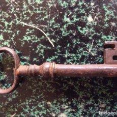 Antigüedades: LLAVE ANTIGUA 90MM. Lote 130566710