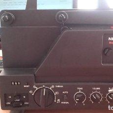 Antigüedades: PROYECTOR SUPER 8 / SINGLE 8 NERAMATIC SUPER SOUND 600, 100 W Y BOBINA 180 M. COMO NUEVO!. Lote 130596934