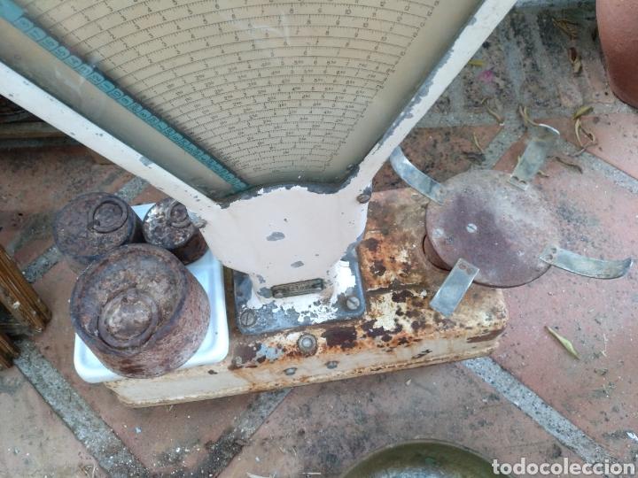 Antigüedades: BALANZA, BASCULA DE COMERCIO ARISO. RESTAURAR - Foto 5 - 130654854