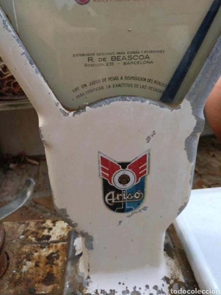 Antigüedades: BALANZA, BASCULA DE COMERCIO ARISO. RESTAURAR - Foto 9 - 130654854