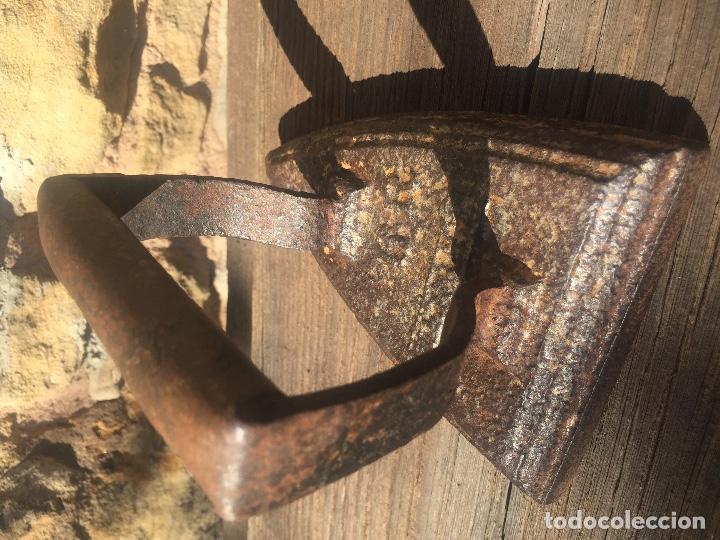 Antigüedades: PLANCHA DE HIERRO FUNDIDO 6R S. XIX KENRICK - Foto 8 - 130702604