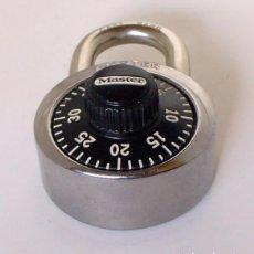 Antigüedades: CANDADO AMERICANO DE COMBINACION-MASTER LOCK. Lote 130757776