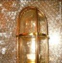 Antigüedades: LUZ DE TECHO CRISTAL TRANSPARENTE. Lote 116956467