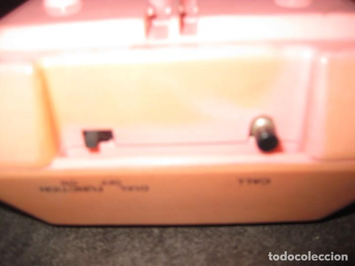 Teléfonos: antiguo bonito telefono de sobremesa y con soporte pared rosa DKL , sin probar , buen estado vintage - Foto 8 - 192147661