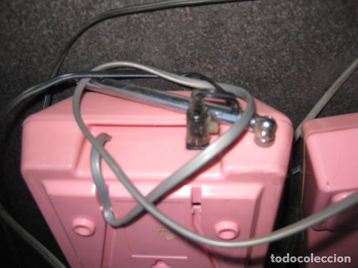 Teléfonos: antiguo bonito telefono de sobremesa y con soporte pared rosa DKL , sin probar , buen estado vintage - Foto 11 - 192147661