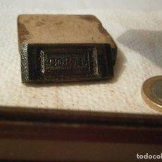 Antigüedades: ¡¡PRECIOSO MONDE,¡PUBLICITARIO,¡DE IMPRENTA EXCLUSIVO¡¡AÑOS 30 40¡CORAL¡¡. Lote 131074532