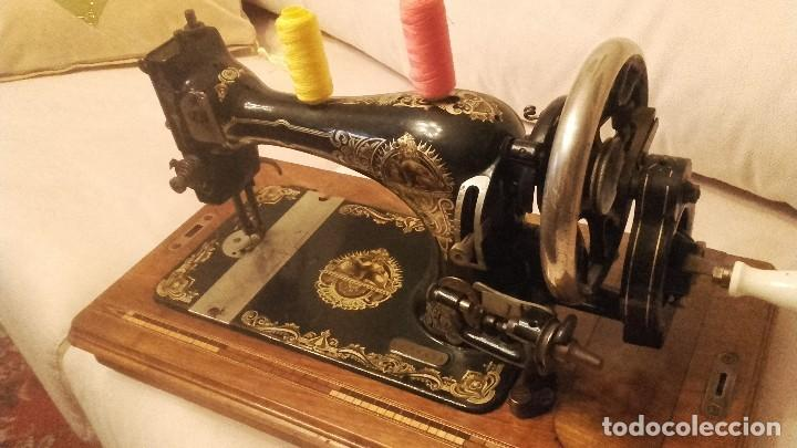 Antigüedades: Maquina de coser - Foto 3 - 131100740