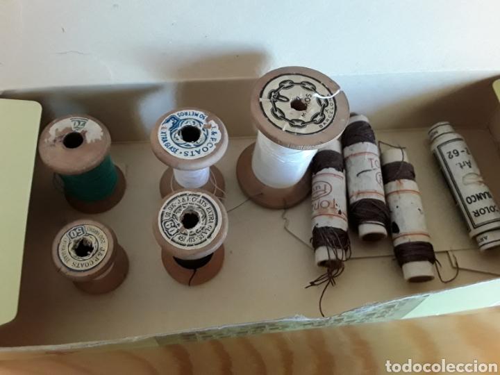 CARRETES DE HILO, DE MADERA, J&P COATS (Antigüedades - Técnicas - Máquinas de Coser Antiguas - Complementos)