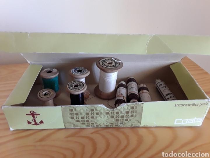 Antigüedades: Carretes de hilo, de madera, J&P Coats - Foto 3 - 131126471