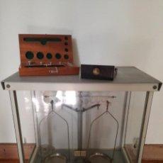 Antigüedades: BALANZA DE PRECISION,. Lote 131142564
