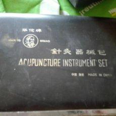 Antiquitäten - Conjunto acupuntura profesional de una asosiacion china ..comprada en clinica acupuntura - 131177347
