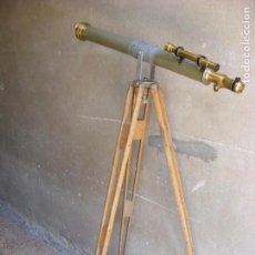 Antigüedades: TELESCOPIO FRANCES MAURICE MANENT. Lote 131197180