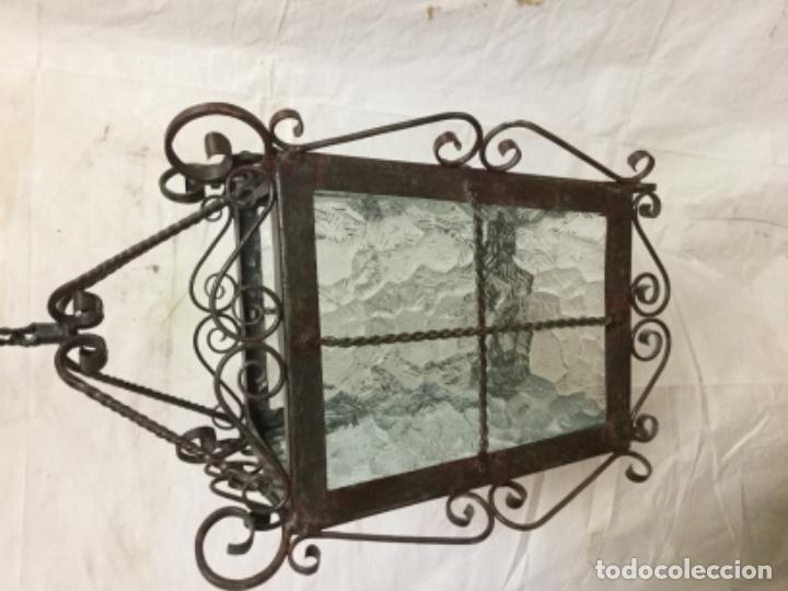 Antigüedades: Farol forja - Foto 2 - 131213160